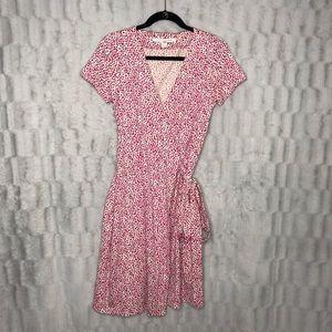 Diane Von Furstenberg New Julian Floral Wrap Dress